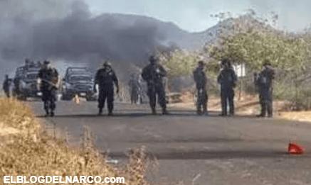 Por culpa de narco mantas se enfrentaron el CJNG y Cárteles Unidos, mueren 7 sicarios