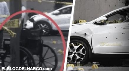 Sicario en silla de ruedas ejecuta a conductor en Ciudad de México (VIDEO)
