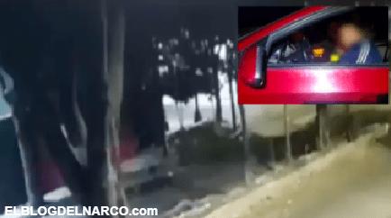VIDEO Momento exacto que sicarios matan a jovencita y hieren a cuatro más a balazos