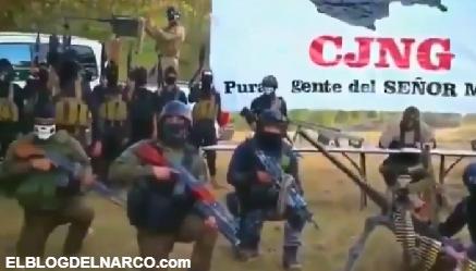 Video donde el CJNG envió un alarmante mensaje a Los Zetas a nombre del señor Mencho