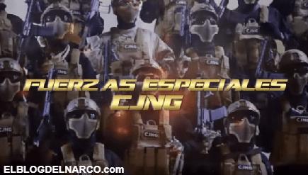 Video donde reaparece el Grupo Élite del CJNG con amenazas al Cártel Santa Rosa de Lima
