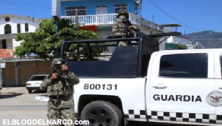 Balacera de la Guardia Nacional en zona de guerra del CJNG dejó como saldo un agente muerto