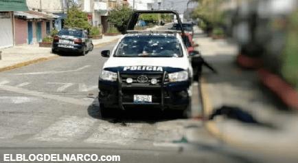 FOTOS Sicarios emboscan a Policías en Veracruz ejecutan a dos y hieren a 2 mas de gravedad