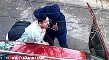 Gritaba y pedía ayuda, Sicarios encapuchados llegaron a levantarlo en Nuevo León (VIDEO)