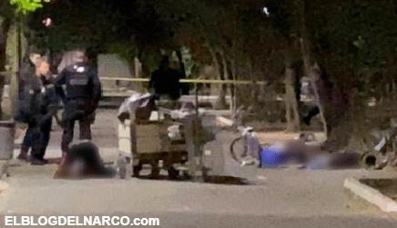 Sicarios ejecutan a 4 indigentes que reposaban en un parque de la colonia Lomas de Polanco en Guadalajara