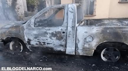 Amedrentan a precandidato de Morena en Sonora, prenden fue su vehículo