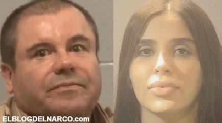 """De una vida de lujos al encierro, cómo pasan Emma Coronel y el """"Chapo"""" sus días en prisión"""