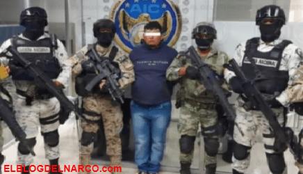 Detienen a 'El Dalugas' líder del Cártel Santa Rosa de Lima, operaba en zona Laja-Bajío