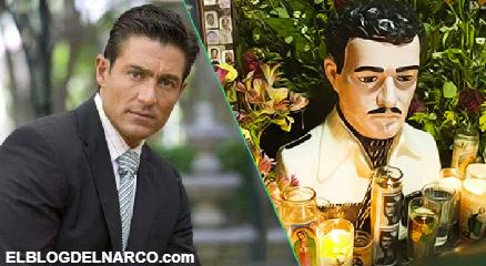El Narco se enoja y amenaza de muerte al actor Fernando Colunga por interpretar a Jesús Malverde