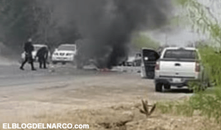FOTOS Con narcobloqueos, el narco boicotea celebración en Reynosa