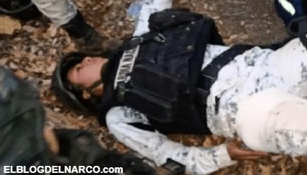 FOTOS Sicarios atacan a elementos de la Guardia Nacional en Cotija, Michoacan