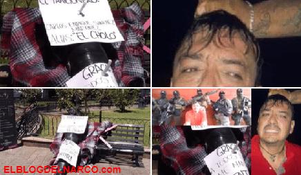 Fotos exclusiva de El Cholo ejecutado y tendido en la plancha de una morgue