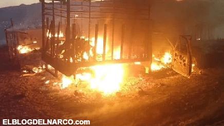 Fuerte balacera y quema de viviendas entre grupos del Cartel de Sinaloa en Choix