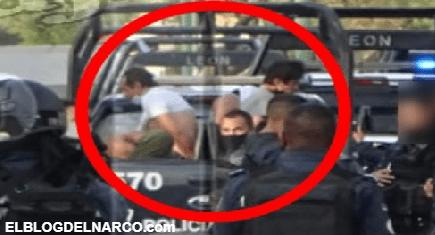 Policías se enfrentan a Comando Armado en León; Guanajuato, detienen a dos pistoleros
