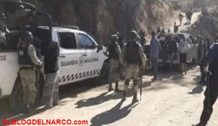Sicarios atacan a elementos de la Guardia Nacional en Choix, Sinaloa