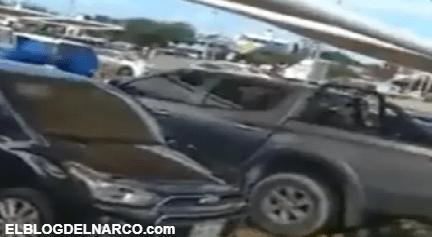 Sicarios del CJNG así agredieron a balazos a policías en zona turística de Cancún (VIDEO)