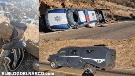 Sicarios emboscan y ejecutan a 4 Policías en Temósachic, otros 7 elementos fueron heridos