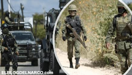 Soldados abaten a 4 Sicarios al repeler agresión armada en Camargo, Tamaulipas