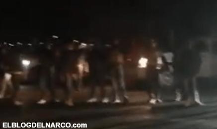 VIDEO Después la muerte El Cholo Sicarios del Mayo retan en Zacatecas al Mencho