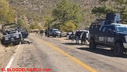 Ataque armado deja 4 policías abatidos y 6 heridos en Madera, Chihuahua