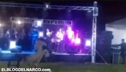 VIDEO Al interior de una fiesta del CJNG, Narcocorridos y arengas a su líder El Mencho