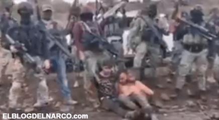 VIDEO Cárteles Unidos levanta a Sicarios del CJNG en Michoacán y amenaza al Mencho