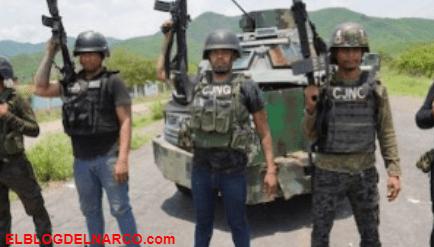 Fotografías donde el CJNG exhibe su arsenal, blindados, calibre 50 y hasta drones
