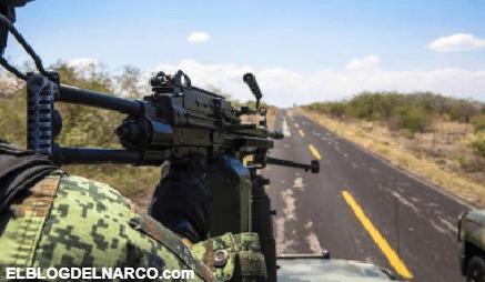 Militares abaten a 5 Sicarios del Cartel del Noreste al sorprenderlos en Narco Campamento