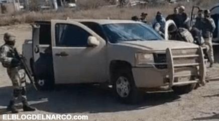 Mueren 4 del Cartel del Noreste al enfrentarse a Militares al poniente de Nuevo Laredo