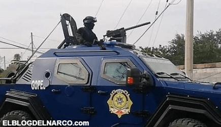 Pistoleros vestidos con uniforme militar liberan a líder del Cártel del Golfo en Tamaulipas.