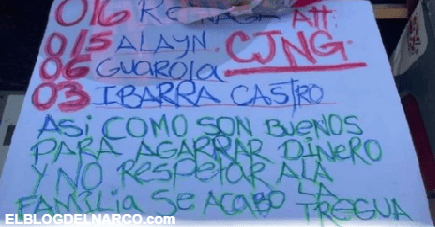 """""""Se acabó la tregua"""", con cabeza de cerdo, CJNG envió un contundente mensaje en Tijuana"""