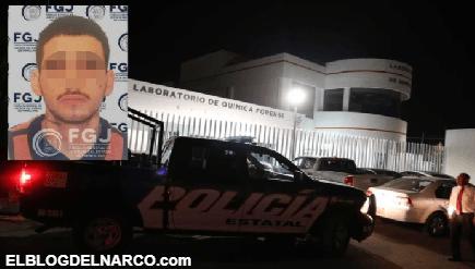 Sitian Policías el SEMEFO de Hidalgo donde se encuentra el cuerpo de El Takia del CDN