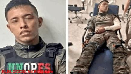 Soldado mexicano desertor es rescatado por narcos y lo recapturan horas después