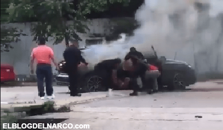 """VIDEO Así fue como Convoy de Sicarios interceptó y ejecuto al hijo del """"Tio Gil"""""""