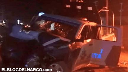 FOTOS: Sicarios mueren calcinados tras tratar de emboscar a Policías en Tamaulipas