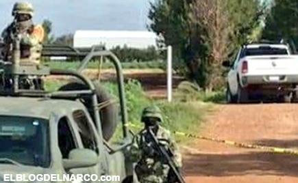 Hallan los cuerpos de 8 hombres torturados y con el tiro de gracia en Calera, Zacatecas