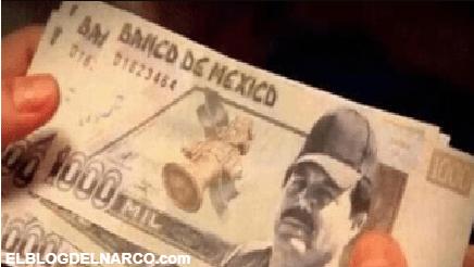 Circulan billetes de mil pesos con la imagen del Mayo Zambada en Culiacán, Sinaloa