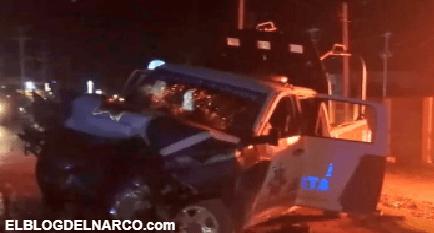 FOTOS Sicarios mueren calcinados tras tratar de emboscar a Policías en Tamaulipas