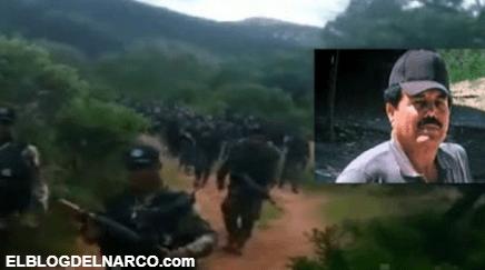 Video Sicarios del Mayo son captados caminando entre brechas de Zacatecas y Durango