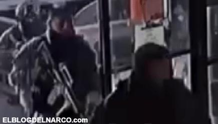 Video de el momento en el que Sicarios rescatan al Comandante Calamardo del CDG