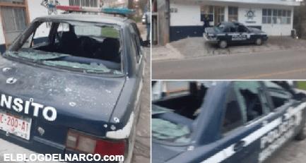 Comando de 20 sicarios atacó base policial en Tlalpujahua, dejó tres muertos y 2 heridos