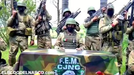 VIDEO CJNG se deslindó de emboscada contra el Ejército en límites de Jalisco y Michoacán