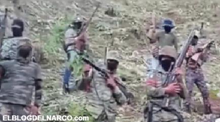 Video el nuevo Cártel en la Narcoguerra por Chiapas que dicen ser del pueblo como todos los malandros