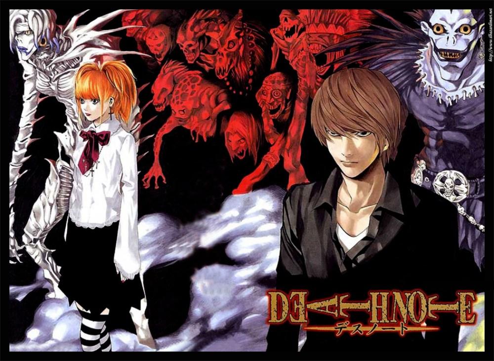 Series de Animación: Death Note (1/2)