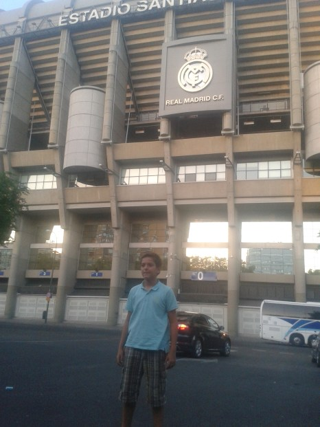 Madrid Santiago Bernabeu