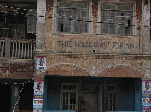 Y no hay crisis inmobiliaria...