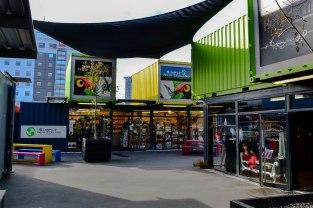 el centre comercial, en plan containers