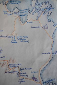 El mapa de la Cuki