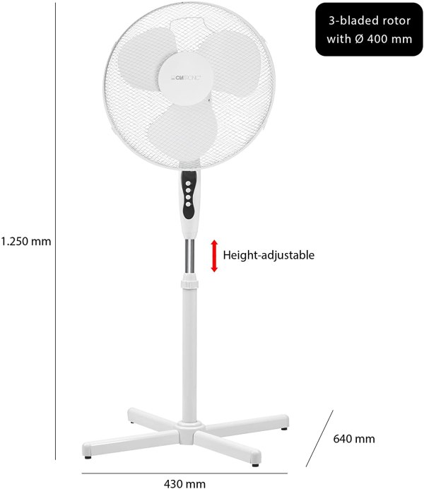 Ventilateur Sur Pied 40cm AEG VL 3603 S