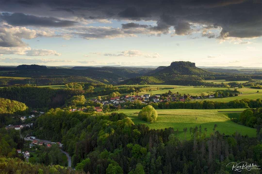 Porschdorf mit dem Lilienstein